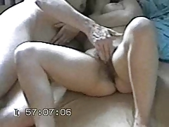 Amateur couple masturbating - woman shaking