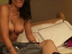 Cougar got numerous climax by daughter`s bf