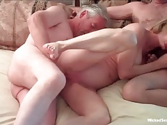More Exhausting Threesome Action