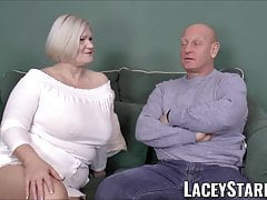 LACEYSTARR - big-chested GILF negotiates a superb vagina deal
