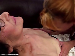 Old granny piss on and fucks mature mother