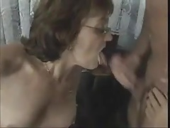 Matures cherish anal