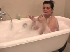 Bbw adult bathtub