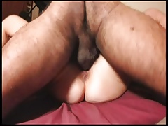 Hairy amateur wife missionary fuck homemade spread