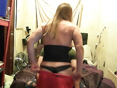 Giving neighbour a lap dance striptease tabbyanne