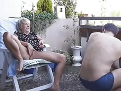 Of course fucked old lady