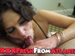 Atlanta cougar step-mother gives you point of view dirty sucky-sucky Cause She likes wood