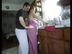 Amateur - Mature Couple In The Kitchen