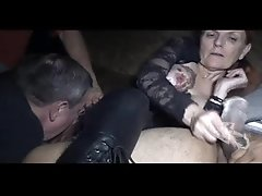 The Arizona HotWife Theater Gangbang at the Erotic Emporium Adult Theater 5