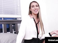 Youthful Step mommy Kimber Lee spunked On Face By Step sonnie!