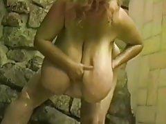 Fat plus Saggy tits (Jerk withdraw Challenge)