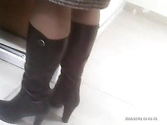 Uber-sexy Mature gams! Unexperienced covert web cam!
