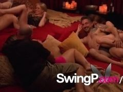 Swinger wifey hopes her spouse lets lose to love swinger soiree