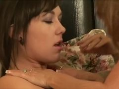 Vet platinum-blonde, Darla Crane, pulls on Sinn Sage and both are pounded while e