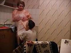 Russian Granny in The Kitchen R20