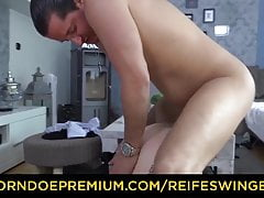 REIFE SWINGER - Hardcore banging fro tattooed matured German