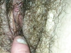 Frolicking with wifes wooly labia