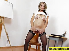 Teacher Mony vag fingering