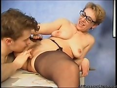 mature russian teacher fucked