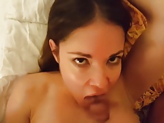 Hot Spanish squirter wife does her thing