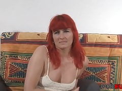 VODEU - Redhead German MILF gets fucked permanent
