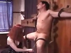 Mother punishes dick