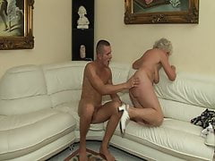 The first-ever time he pummels a red-hot grandmother!