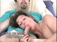amatuer milf loves to get cum all over her face