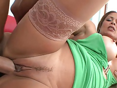 Latin mature milf in stockings fucks great (TOP MATURE)