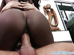Analloving mature squirting classy ebony fun