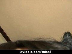 Cute Momo Jyuna solo masturbation action