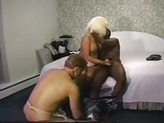 XXX join in matrimony more yoke louring lovers together with cuckold concomitant economize
