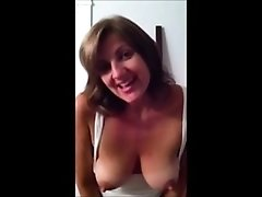 Lovely talking mother self shot masturbation compilation
