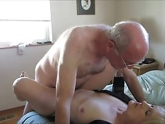 Older couple create a sex tape