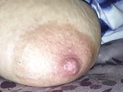 Wife's nipple
