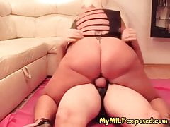 My cougar revealed monstrous funbags wifey in spandex sundress frolicking wet