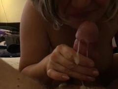 Surprise cougar oral pleasure popshot