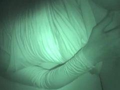 Haylee enjoy hooded cougar Night Vision