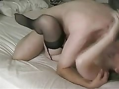 Mature Wife Makes Love to Her Husband