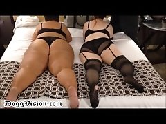 not Sisters with Huge Asses Spanked and Squirt - DV