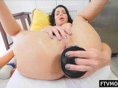 Super-steamy mature ass fucking