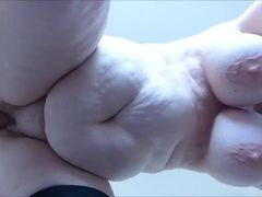 Saggy gigantic mature pummeled