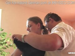 Germans know how to love a mature first-timer 4 way