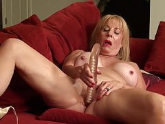 Gorgeous mature mommy Rae with outstanding humungous funbags