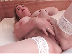 Sexy Hairy Mature Woman