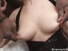 Granny Magda Loves Black Cocks