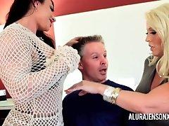 Alura Jenson Milf From LOCALMILF.INFO Threesome Fuck Arrest with Brandie Ma