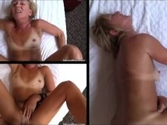 Miniature tan-lines granny cougar dilly humps youth tramp firm out of reach of 3 screens POV