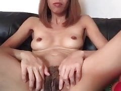 Thai wifey - fur covered labia