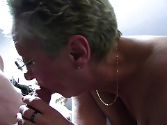 xxxOmas - Two grannies getting dirty in a German foursome